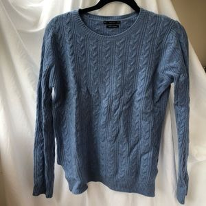 100% Cashmere Zara Cable knit Sweater Size M